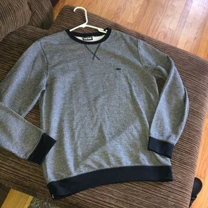 Vans grey and black pullover M